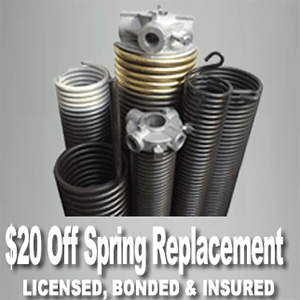 lincoln garage door spring repair